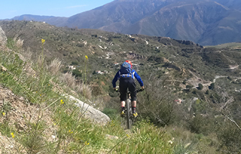 Singletrack is essential - even on a climbing day!